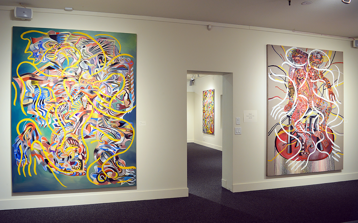 Installation view of 'The Fourth Wall.'