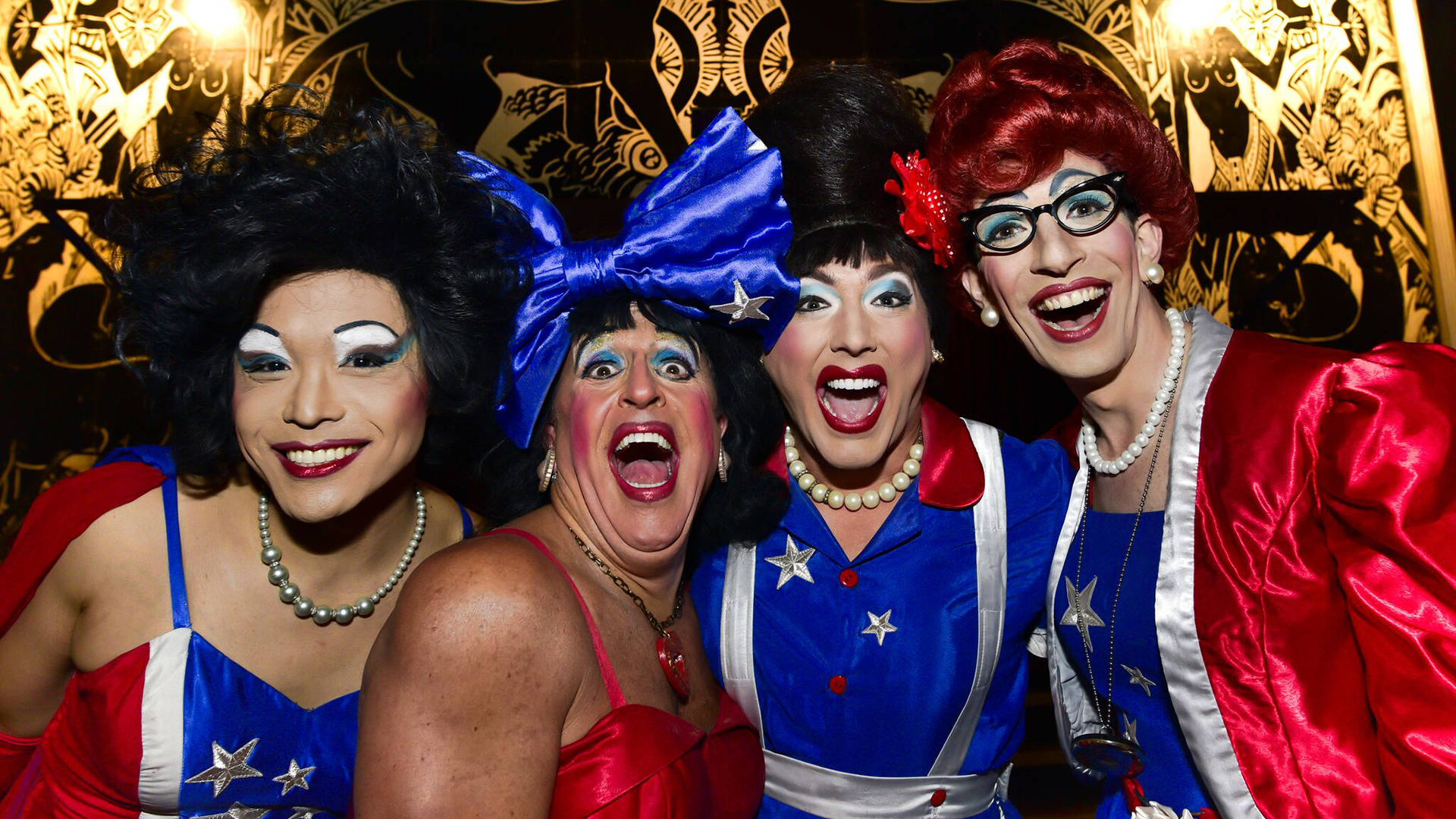 The Kinsey Sicks embrace the role of drag queens as irreverent truth-tellers in their latest show, 'Things You Shouldn't Say.' Trentino Priori
