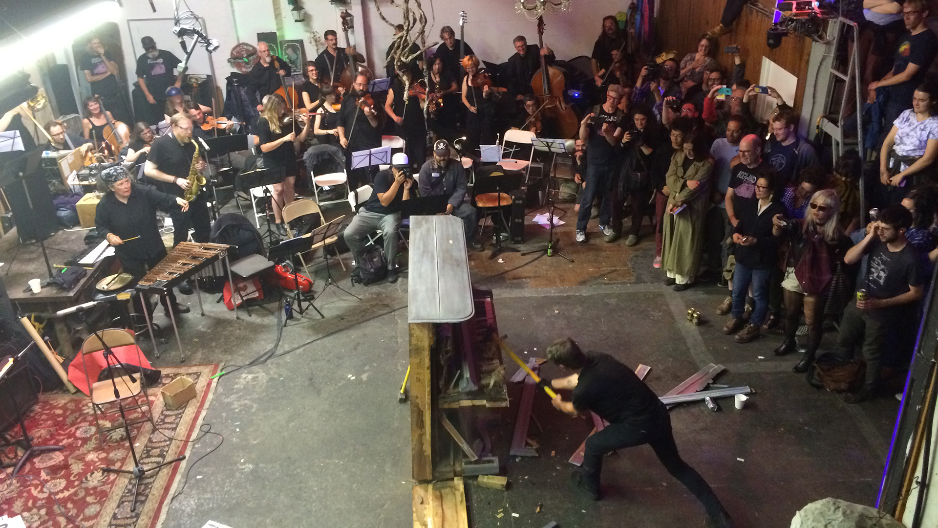 Can You Still Smash a Piano and Call it Art in New Oakland?