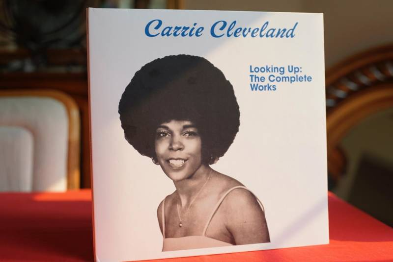 "Carrie Cleveland's ""Looking Up"" album (photo by Pendarvis Harshaw)"