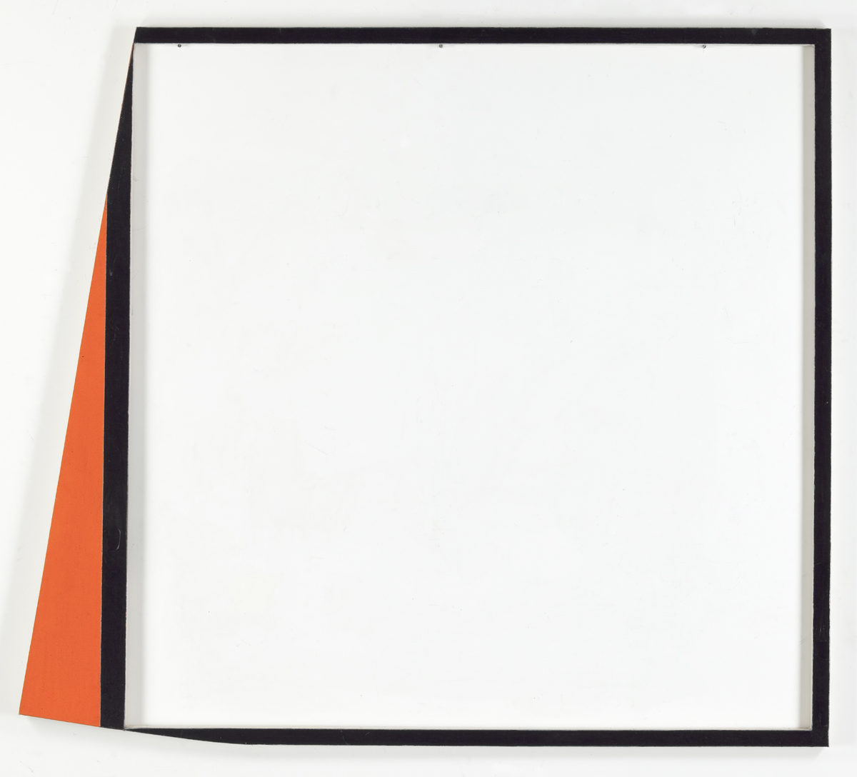 Harvey Quaytman, 'Bordering Text,' 1984.