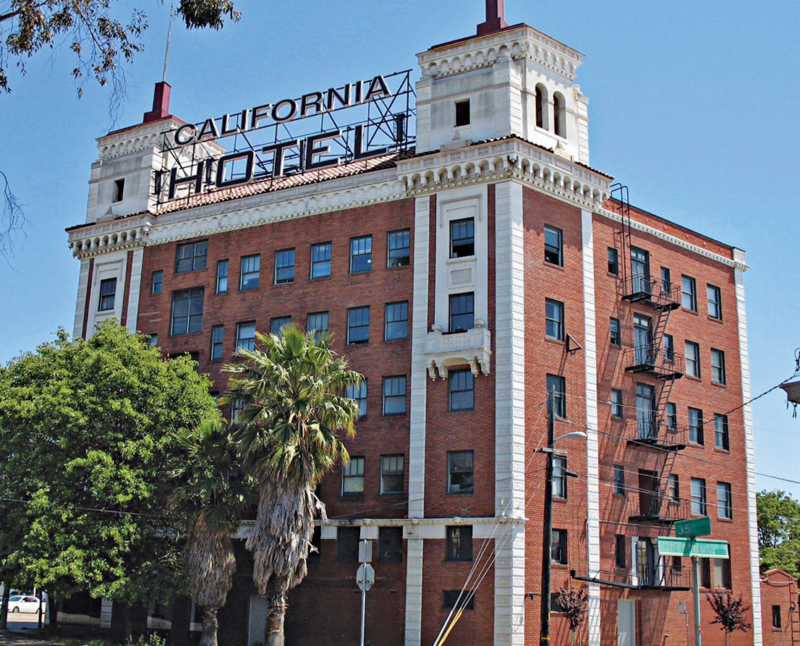 The California Hotel.