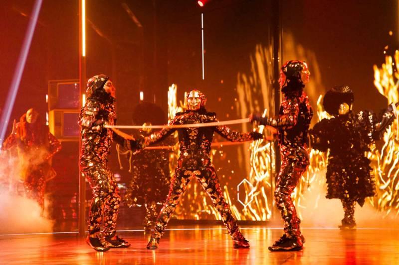 Cirque du Soleil's 'Volta.'