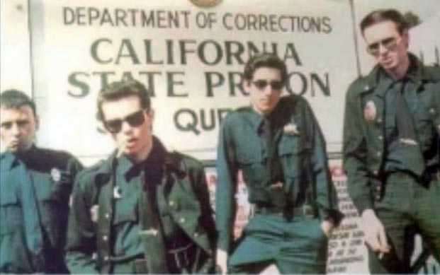 San Francisco punk band Crime, who often performed in police uniforms.