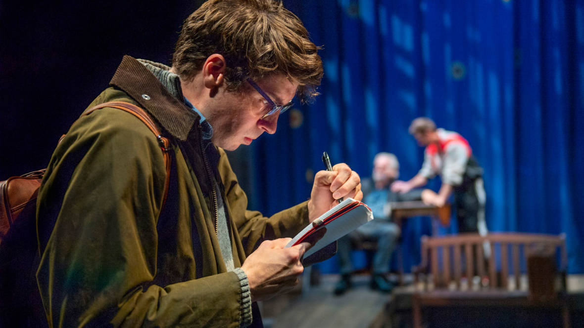 'Everything is Illuminated' Coaxes Humor from Tragedy at Aurora Theatre