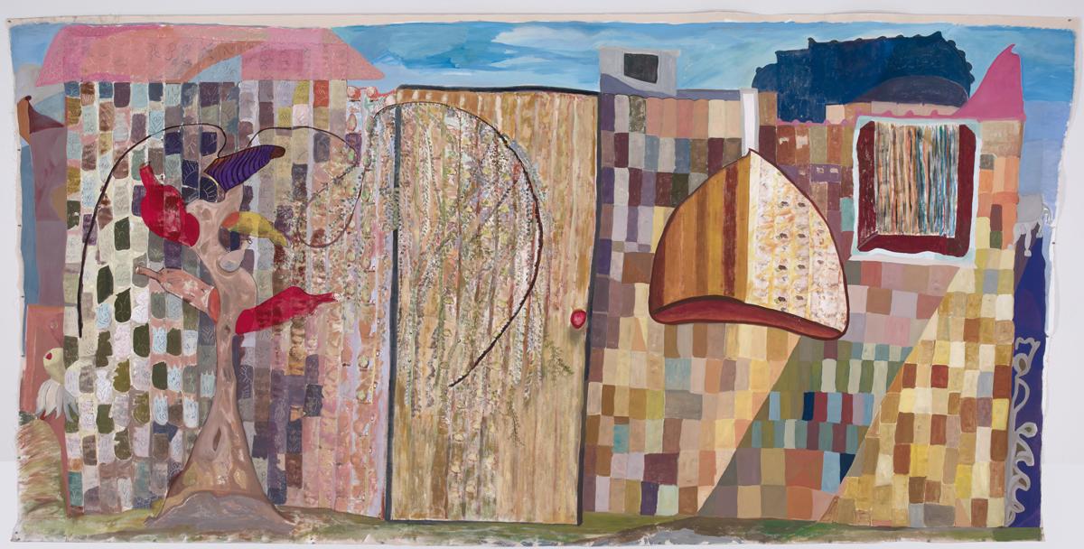 Ficre Ghebreyesus, 'Zememesh Berhe's Magic Garden,' 2009.
