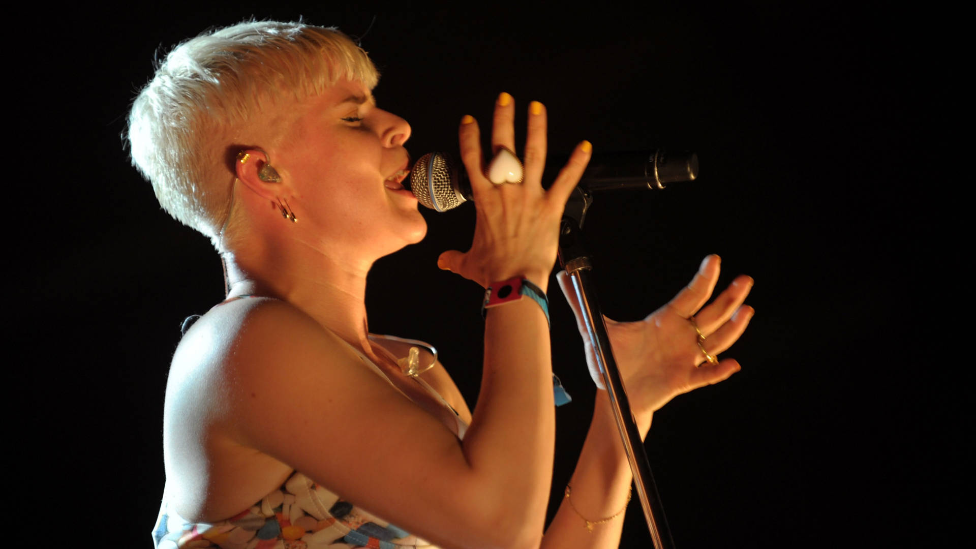Robyn at Coachella in 2011.  Photo by Charley Gallay/Getty Images