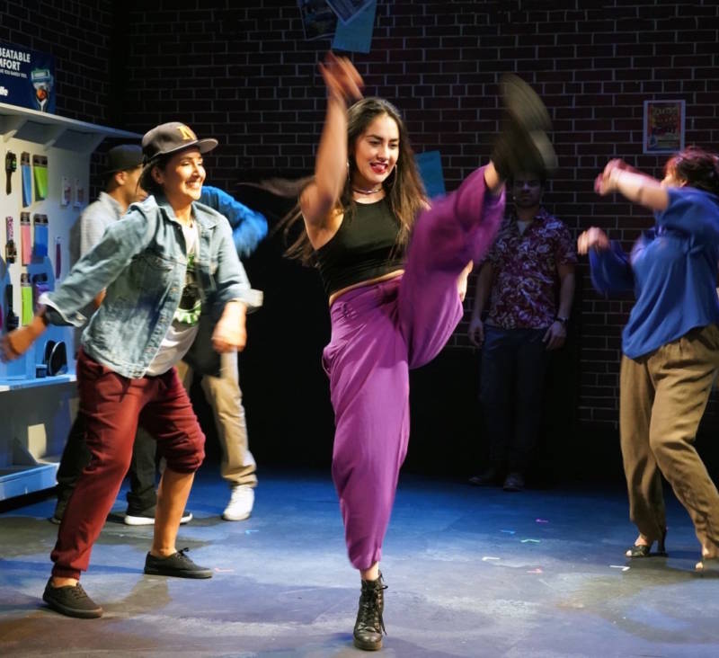Nora Fernandez Doane as Vanessa on dancefloor