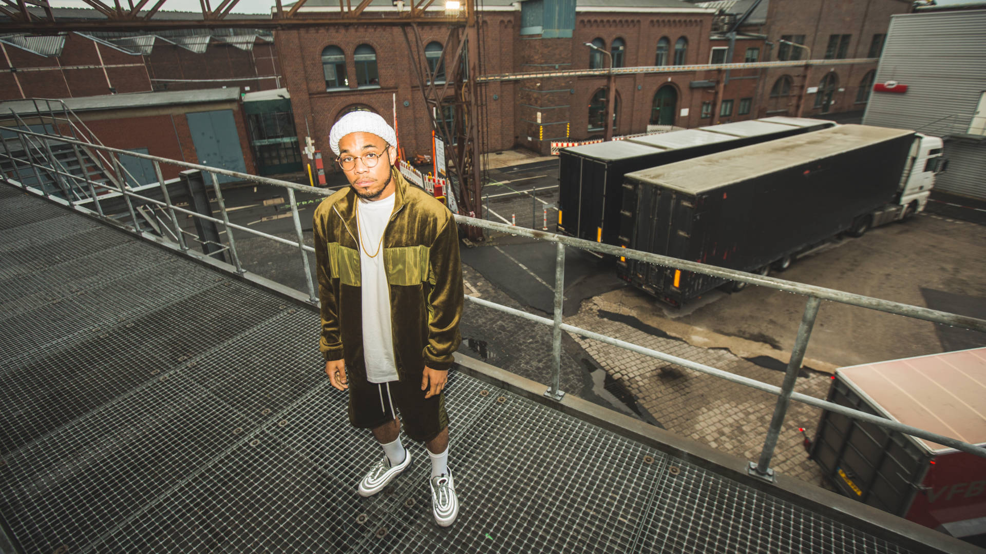 """""""I've gotten to share all these experiences with people in my hometown,"""" Anderson .Paak says, """"and introduce my hometown to the world. Israel Ramos/Courtesy of the artist"""
