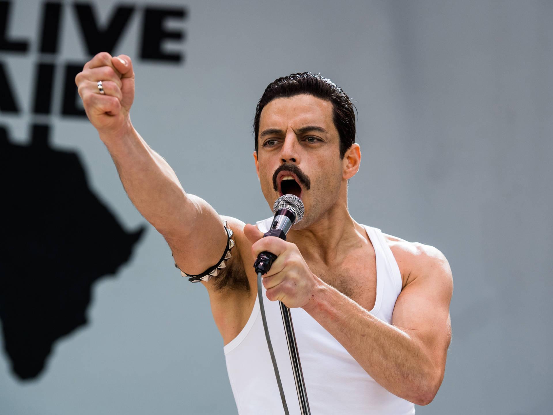 Rami Malek stars as Queen lead singer Freddie Mercury in 'Bohemian Rhapsody.' Alex Bailey/20th Century Fox