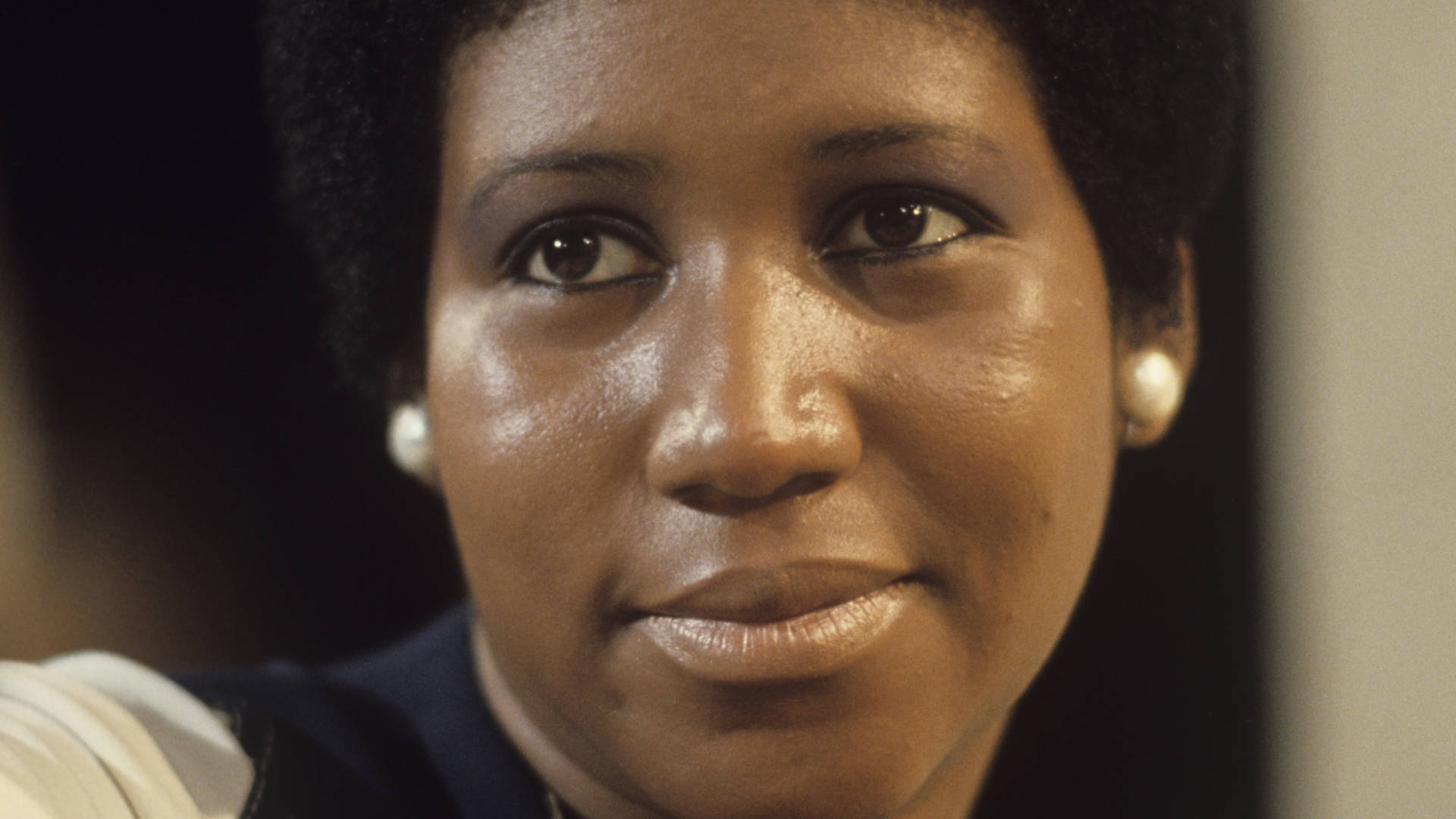 Aretha Franklin, pictured during a television appearance in January 1972, the same month in which the project Amazing Grace was recorded. ABC Photo Archives/ABC via Getty Images