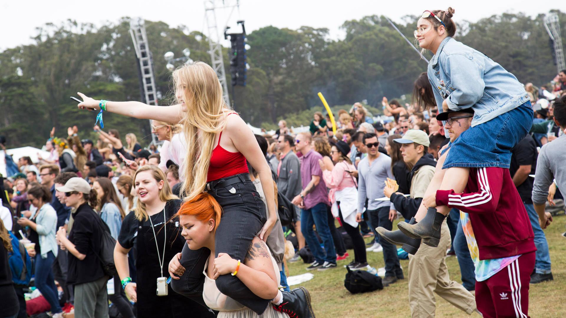 The crowd at 2017's Outside Lands in Golden Gate Park.  Estefany Gonzalez