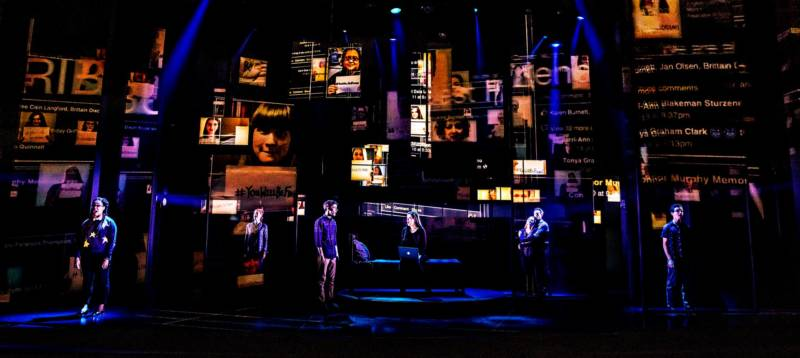 The company of the first North American tour of 'Dear Evan Hansen.'