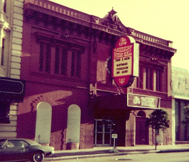 This year Goldenvoice assumed control of booking at the Great American Music Hall, seen here in the 1970s.