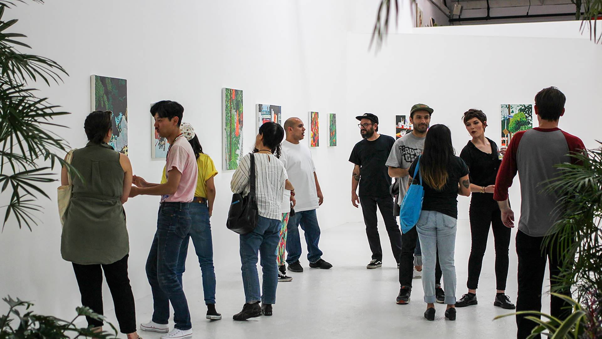 The new Guerrero Gallery during the opening of Hilary Pecis' 'El Verano' in 2016. Alan Gonzalez; Courtesy of Guerrero Gallery