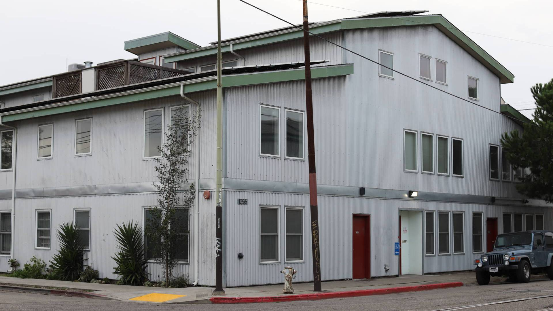 The Northern California Land Trust spent millions creating 11 live-work units and the performance and rehearsal space at what was known as the Noodle Factory.
