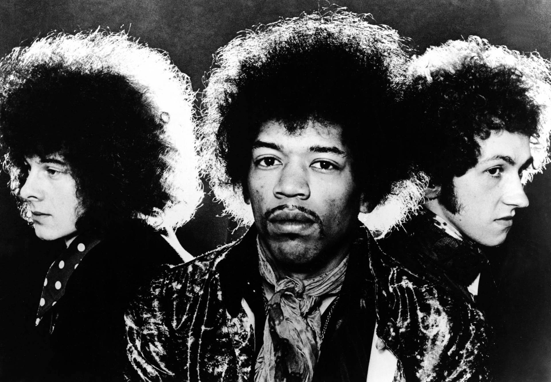 The Jimi Hendrix Experience in the late 1960s. Left to right: Noel Redding, Jimi Hendrix, Mitch Mitchell.  Hulton Archive/Getty Images