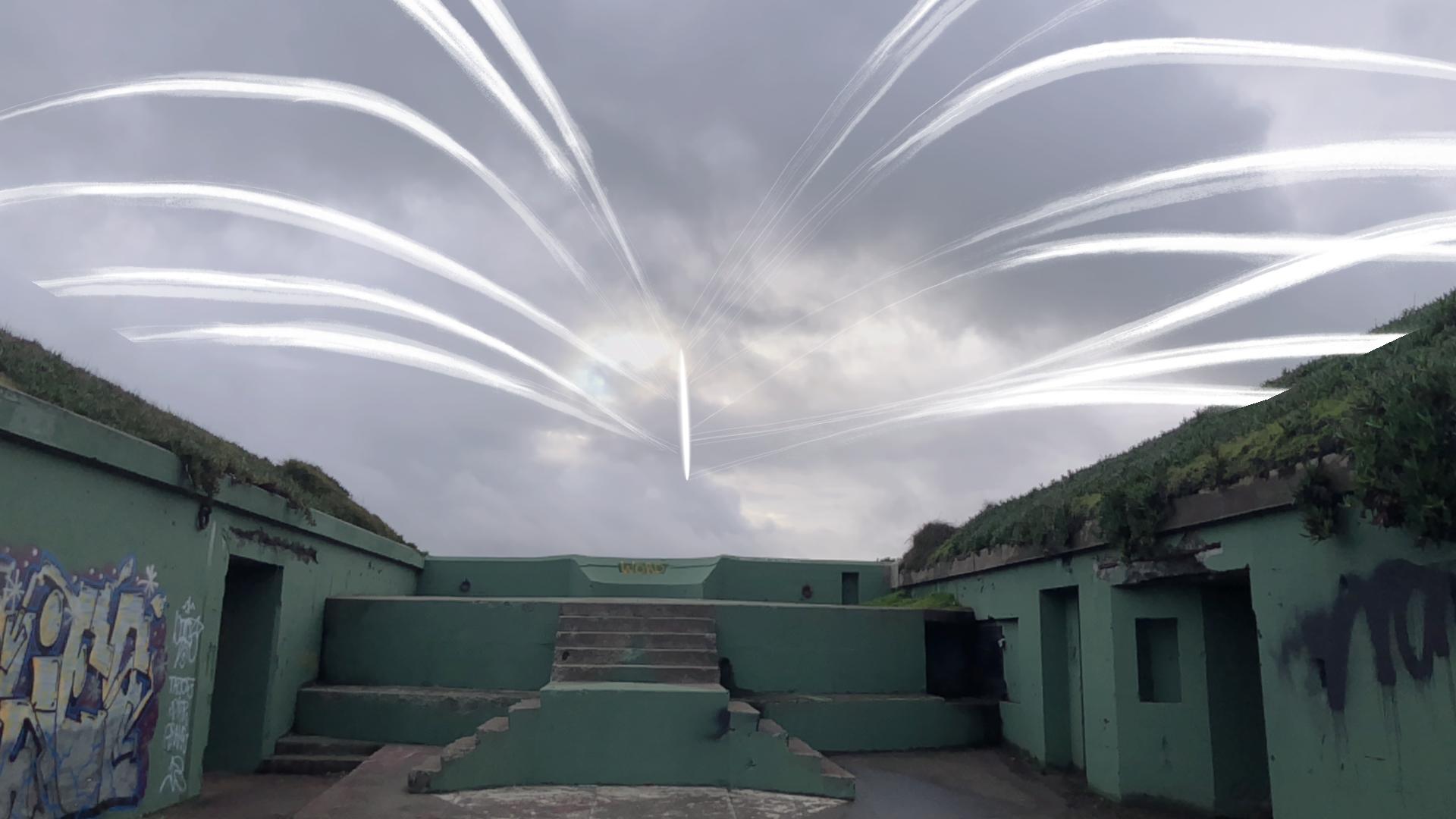 Vishal K. Dar, 'Edge of See: Twilight Engines' (app view), 2019.