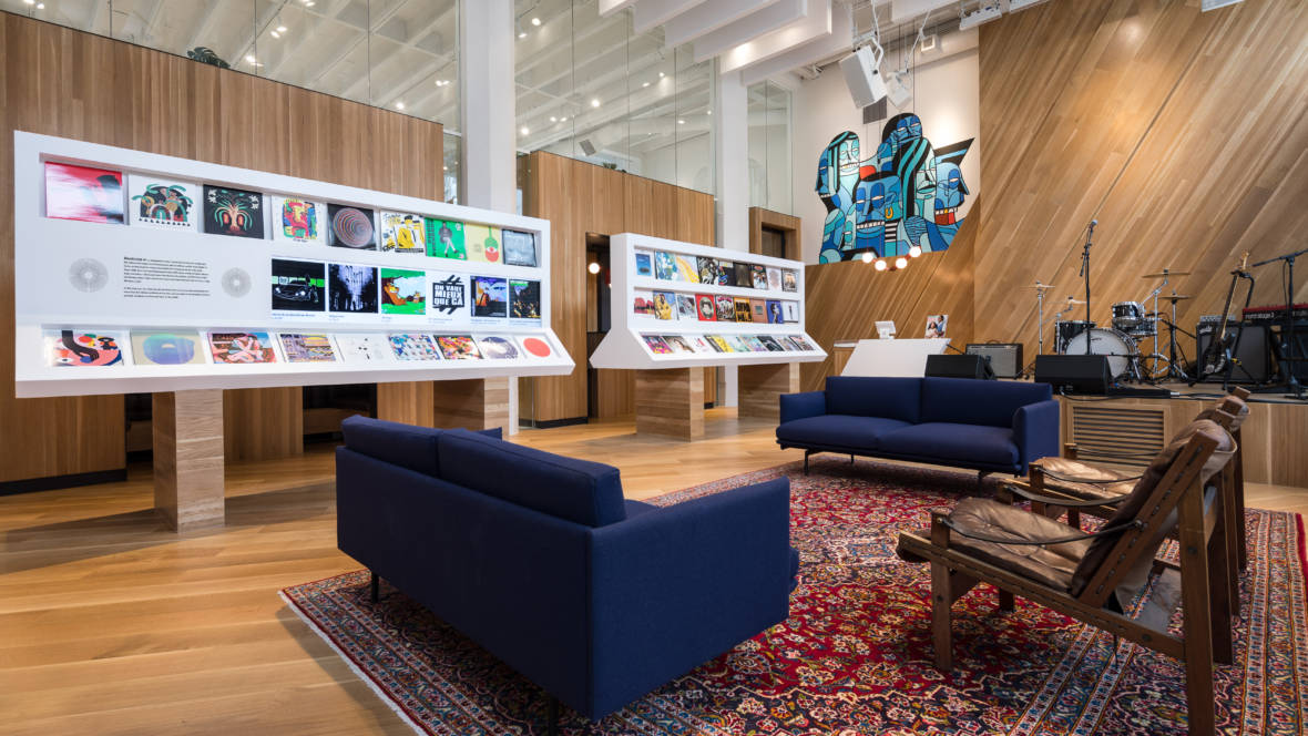 Inside Bandcamp's New Oakland Venue, Record Shop and Office