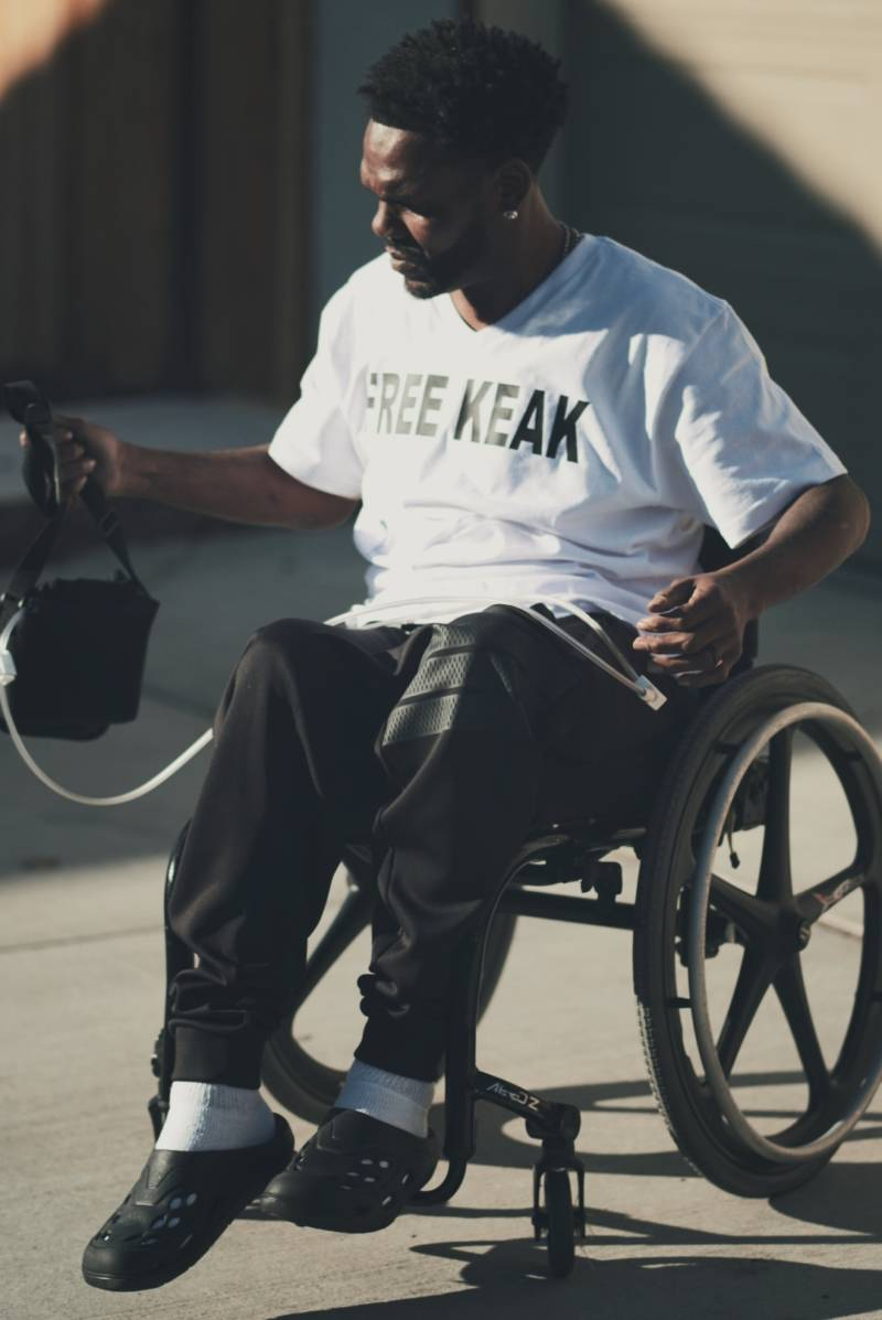 Rapper Keak Da Sneak says that California correctional facilities have little compassion for inmates with disabilities.