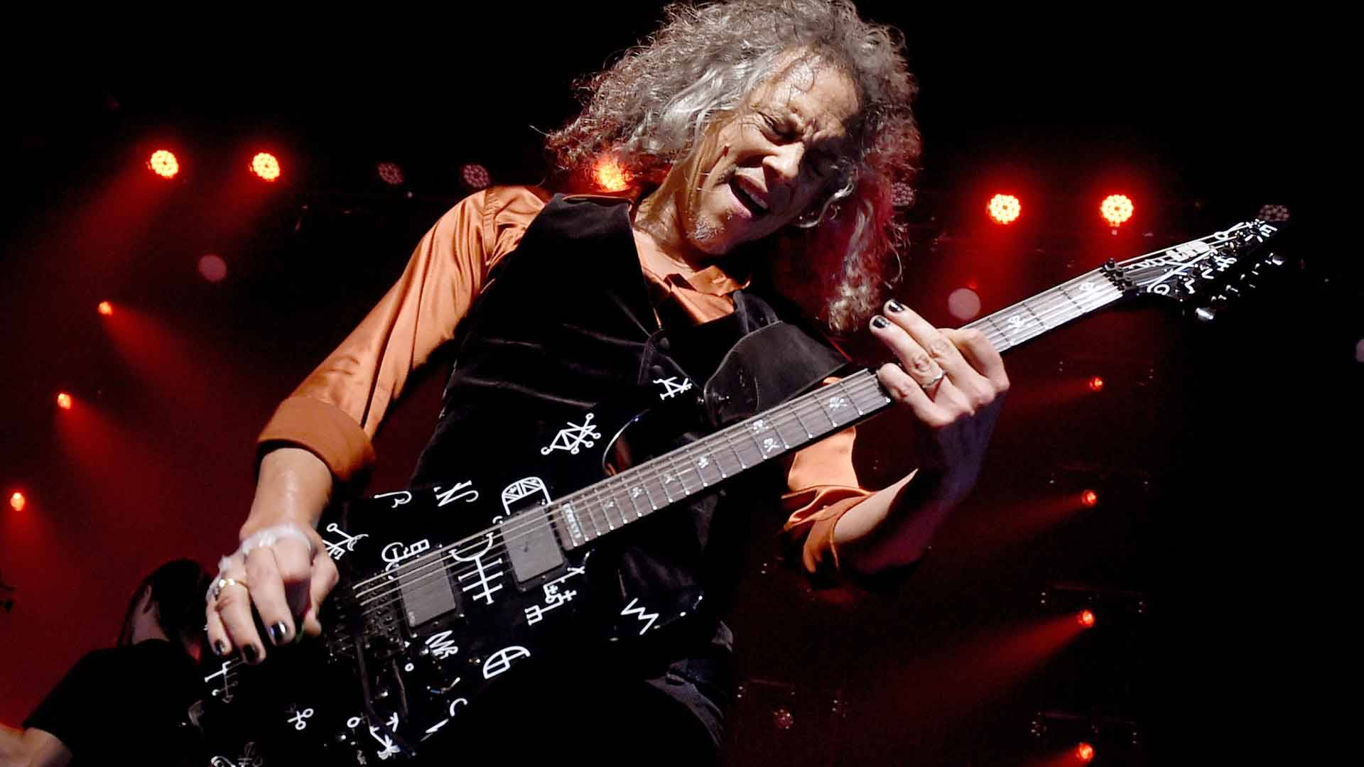 Kirk Hammett of Metallica performs at the Fonda Theatre on December 15, 2016. Kevin Winter/Getty Images)
