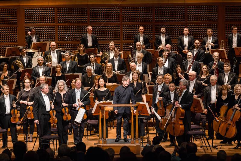 Esa-Pekka Salonen conducts the San Francisco Symphony on Jan. 18.