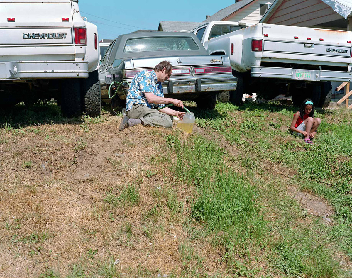 Jeff Wall, 'Siphoning fuel,' 2008.
