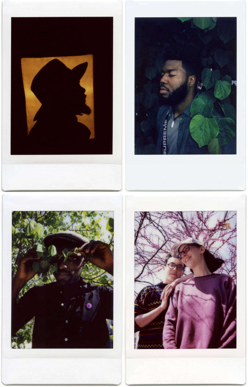 Clockwise from top left: Logan Richardson, Khalid, Josée Caron and Lucy Niles of Partner, Naia Izumi (winner of 2018's Tiny Desk Contest).