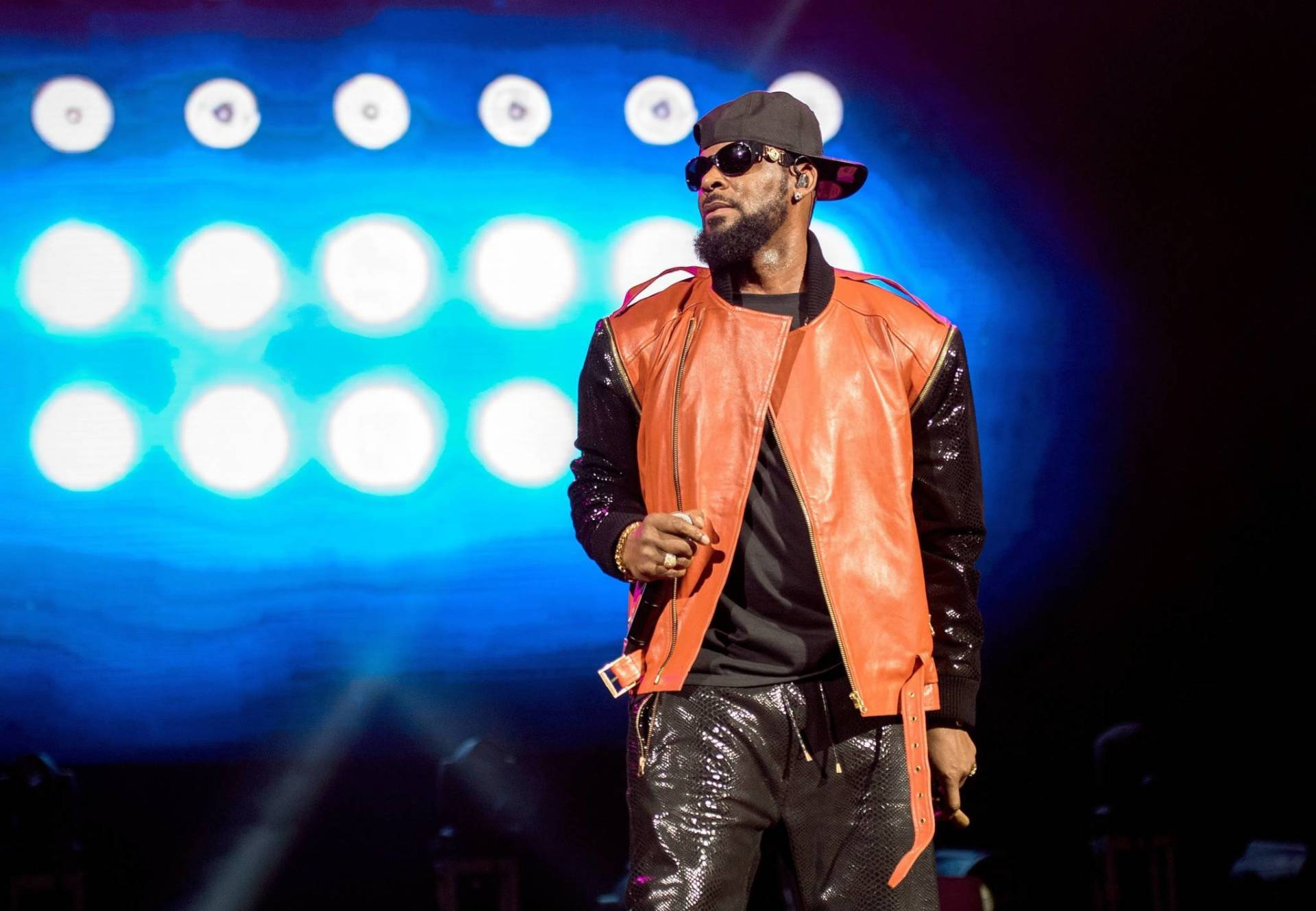 R. Kelly onstage in Brooklyn in September 2015. Mike Pont/Getty Images