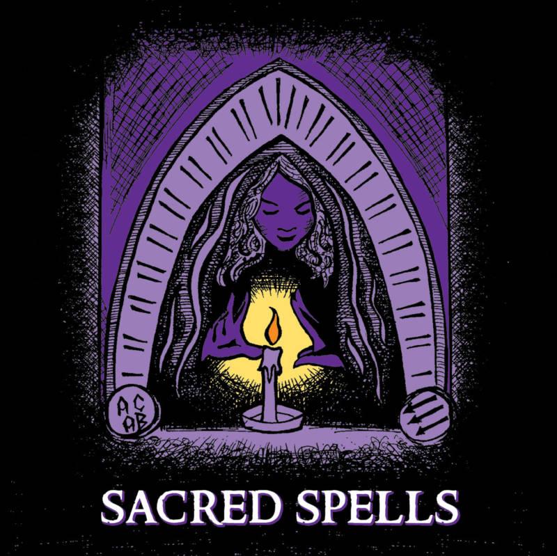 'Sacred Spells' album art.