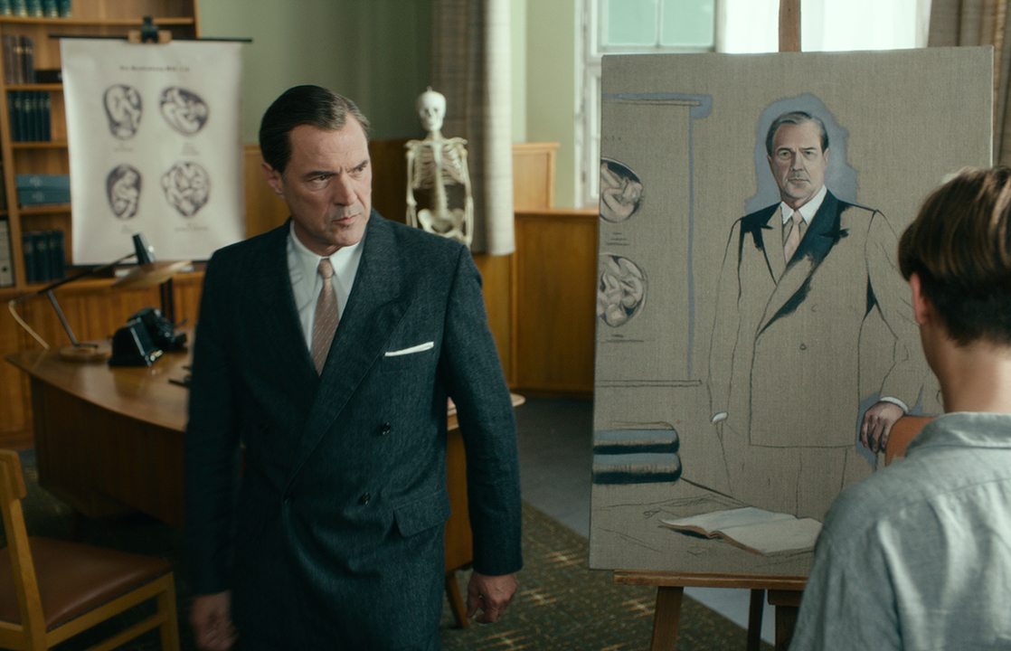 Sebastian Koch as Professor Carl Seeband in 'Never Look Away.'