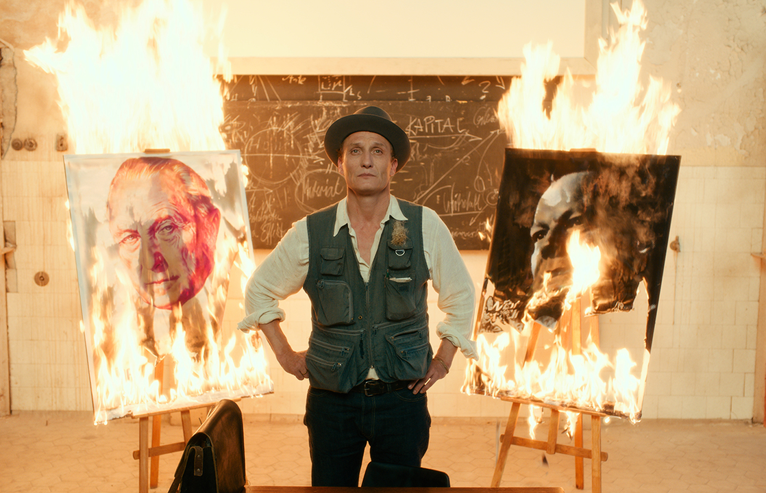 Oliver Masucci as Professor Antonius van Verten in 'Never Look Away.'