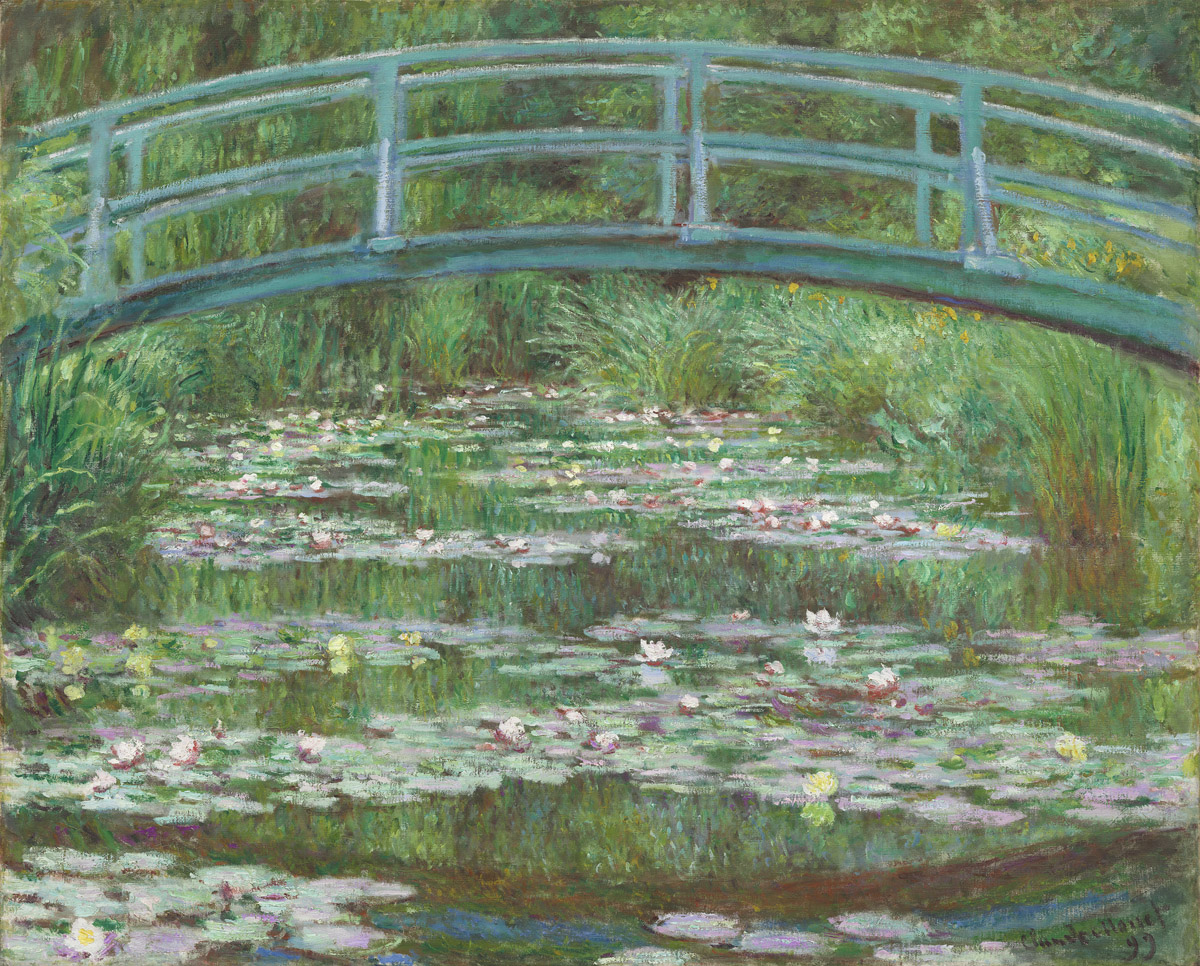 Claude Monet, 'The Japanese Footbridge,' 1899.