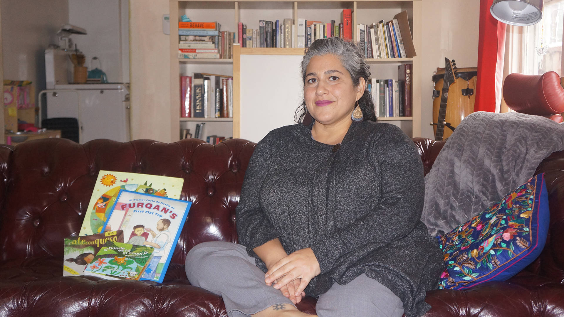 Oakland's Maceo Cabrera Estevez founded the subscription service Booklandia with the intention of helping bilingual families find high-quality, Spanish-language children's books. Azucena Rasilla