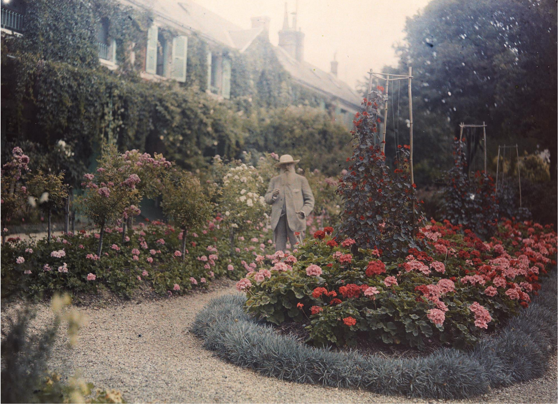 Anonymous photographer, 'Monet in His Garden at Giverny,' 1921.