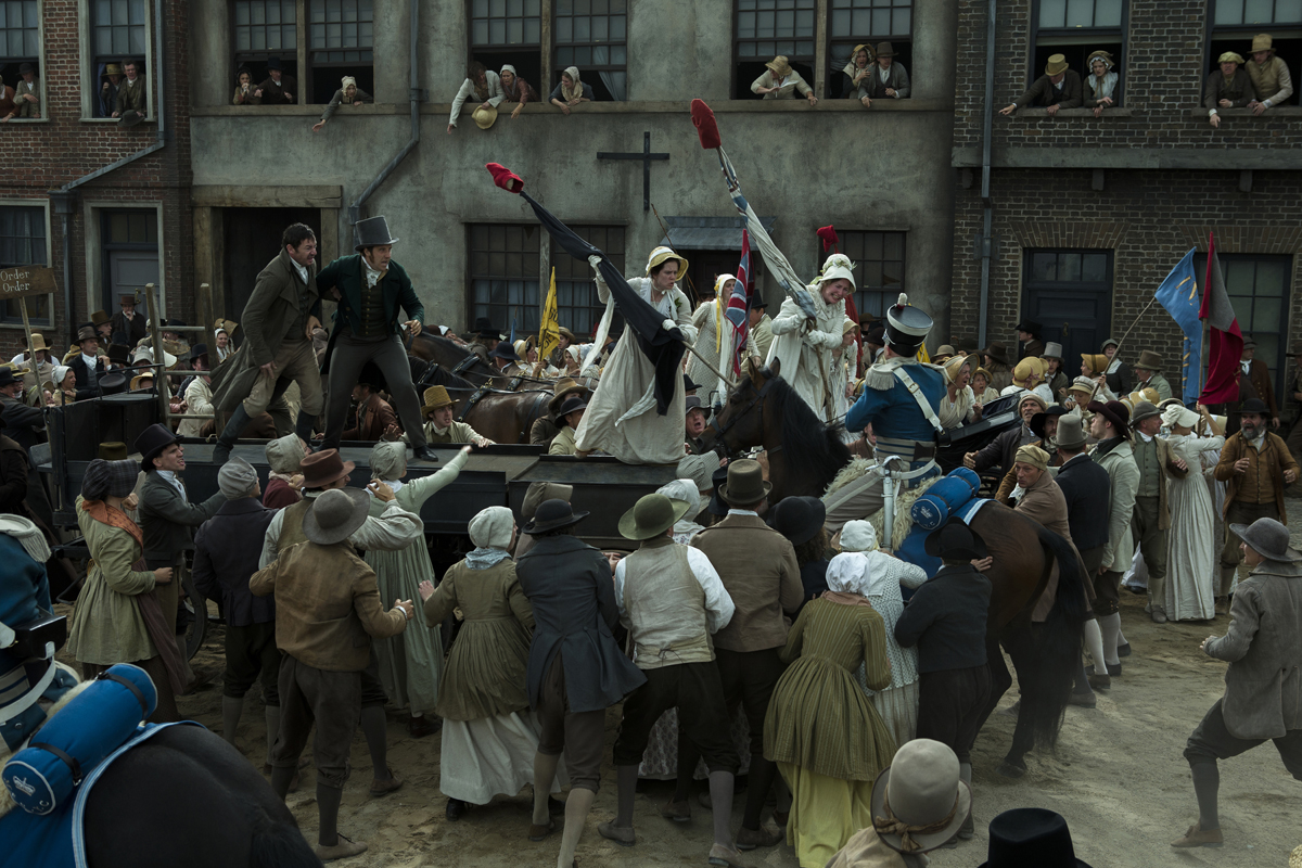 Still from 'Peterloo.'