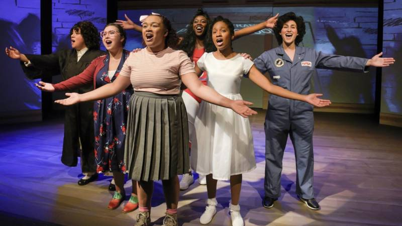 The cast of 'She Persisted, the Musical.'