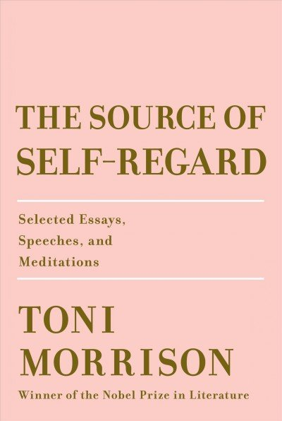 'The Source of Self-Regard' by Toni Morrison.