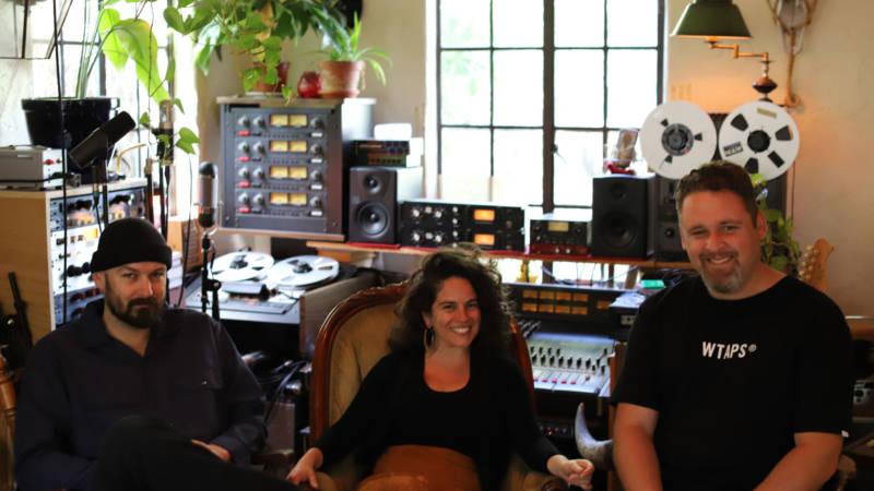 Left to right: Long Road Society operators Kit Center, Lisa Pezzino and Morgan Nixon.