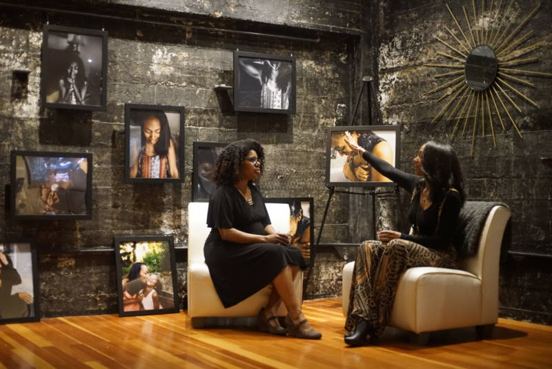 Theresa Fortune in conversation with Jeannine Hooks-Allen