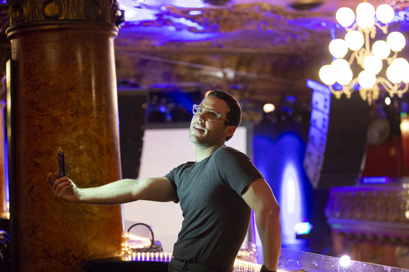 Electronic artist Will Wiesenfeld takes a moment to explore Great American Music Hall before Baths headlines on night three of the 2019 Noise Pop Music and Arts Festival.