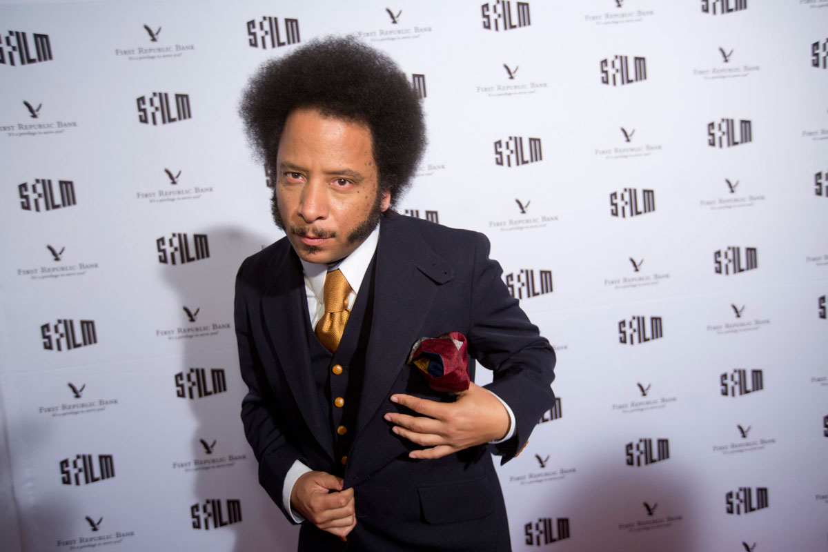 Boots Riley, speaker at the State of Cinema.