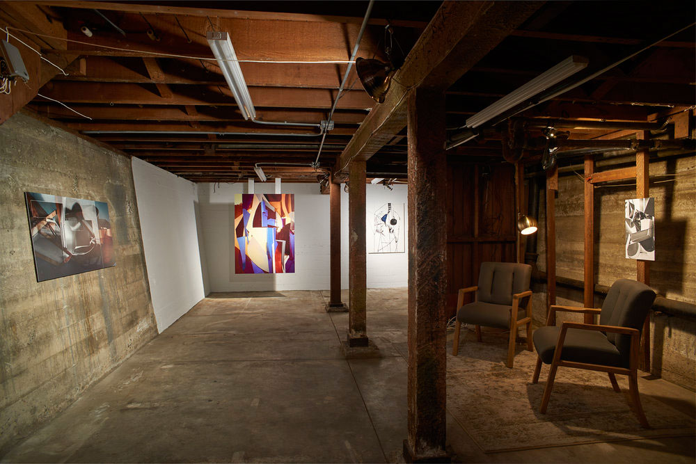 Yamini Nayar, 'If stone could give,' installation view, Gallery Wendi Norris Offsite, 3344 24th Street, San Francisco.