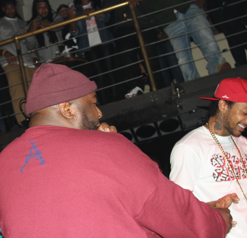 The Jacka and Nipsey, both on stage in Heaven now