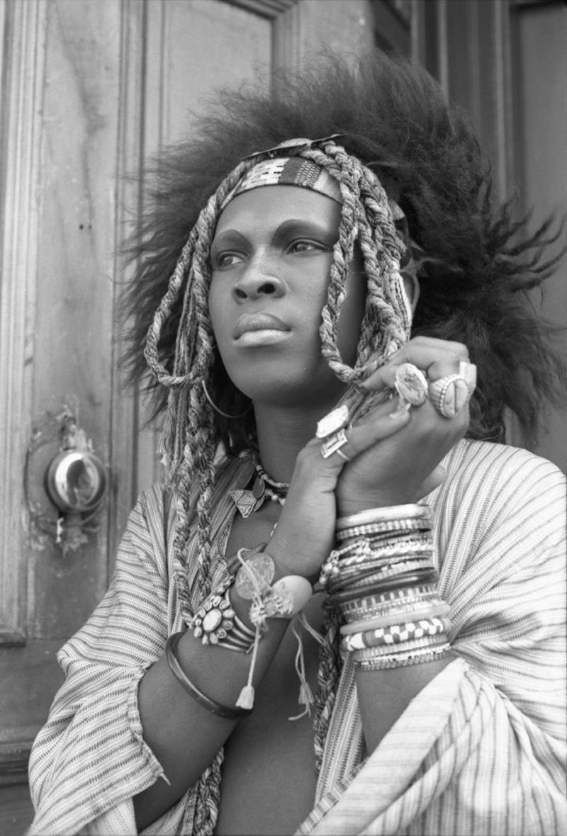 Clay Geerdes, Sylvester in Braids, 1971.