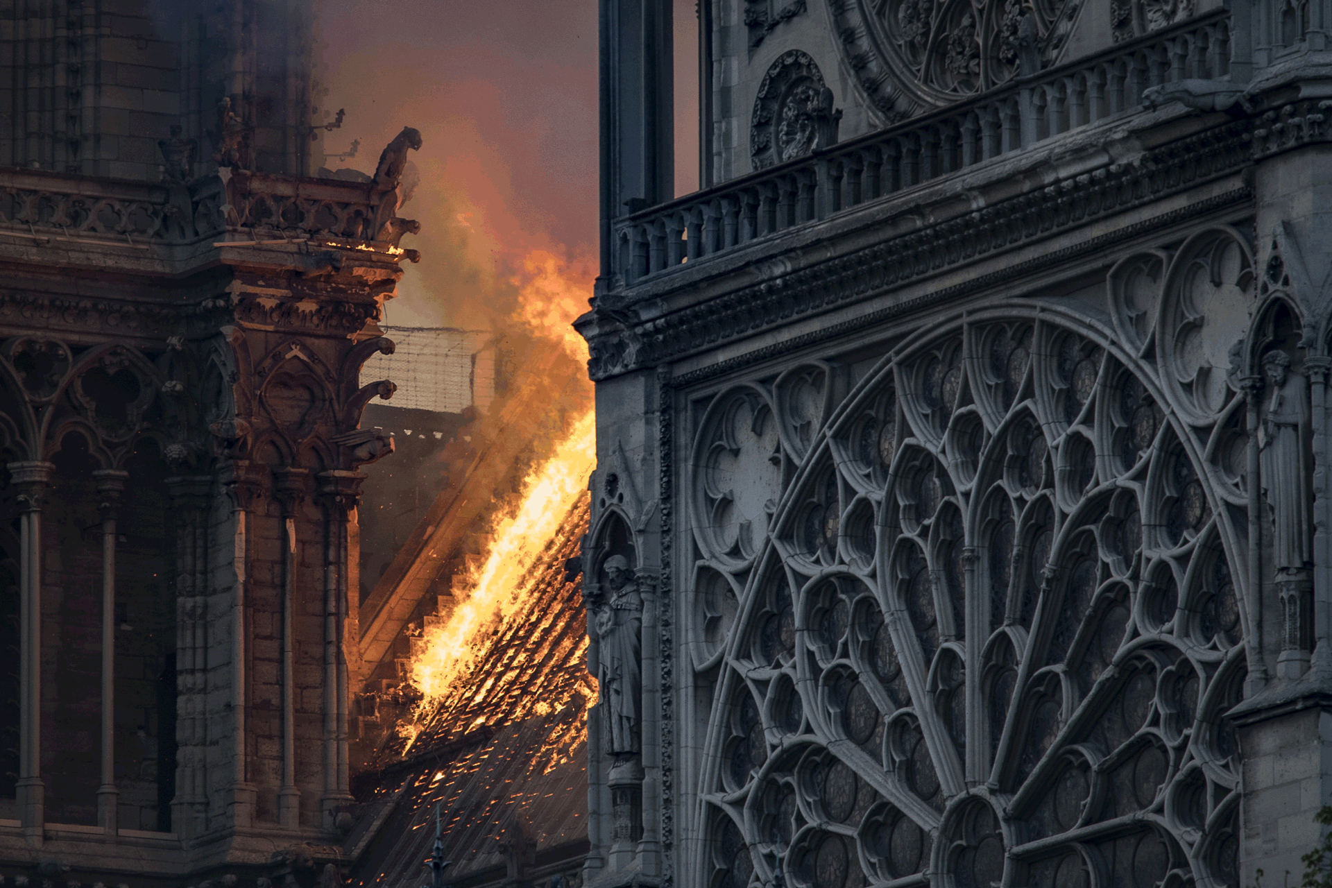 Firefighters Race to Salvage Artwork in Notre Dame Fire