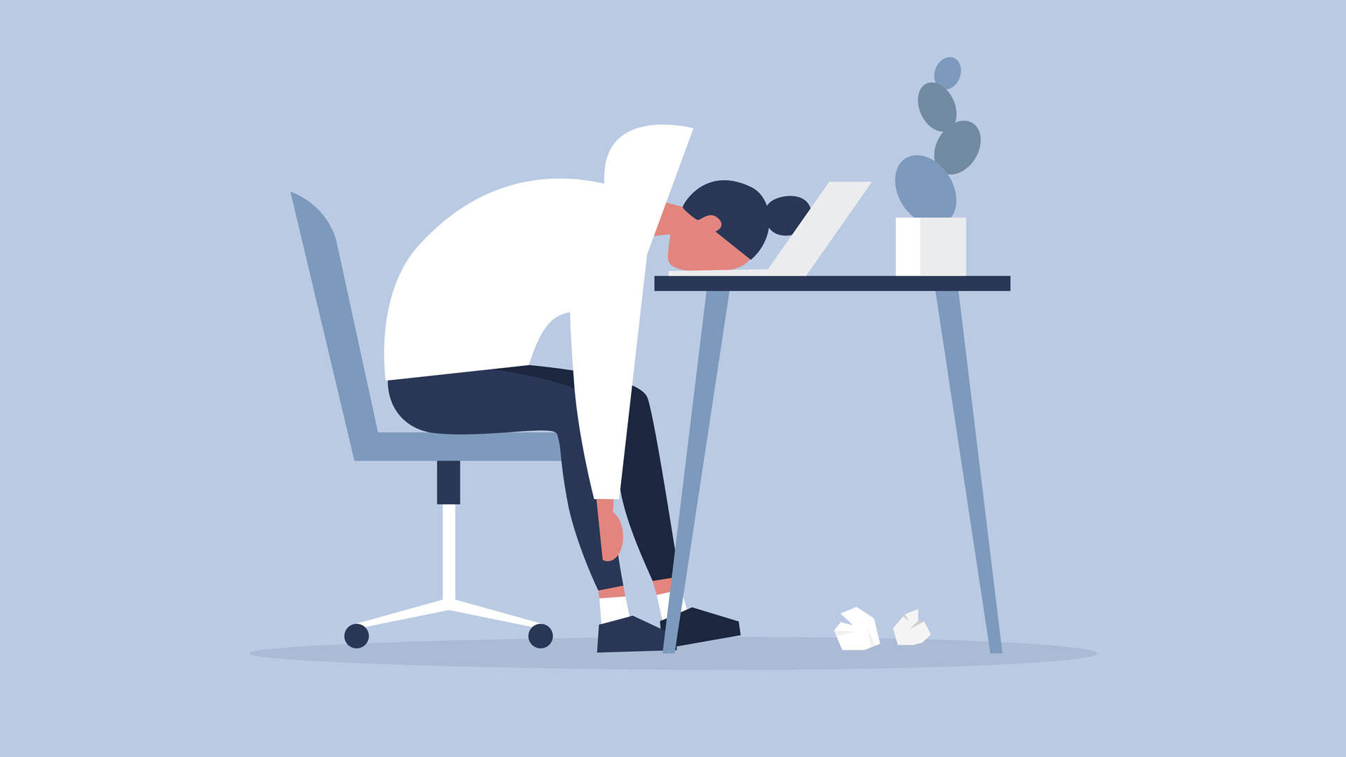 """We are left with twenty-four potentially monetizable hours that are sometimes not even restricted to our time zones or our sleep cycles,"" writes Jenny Odell in her new book, 'How To Do Nothing.' Illustration by Nadia Bormotova/iStock"