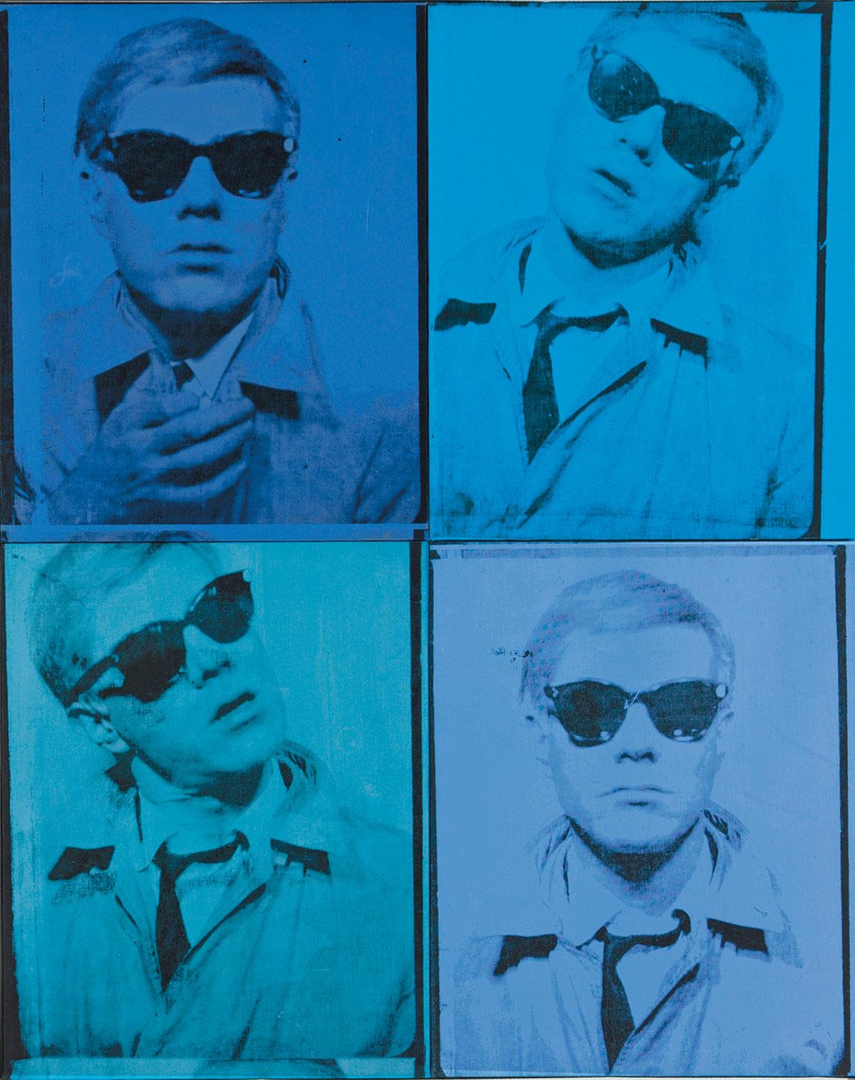 Andy Warhol, 'Self-Portrait,' 1963–64.