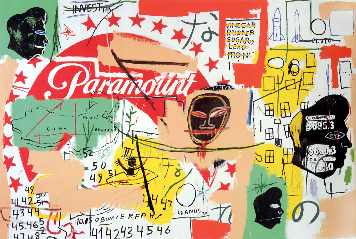 Jean-Michel Basquiat and Andy Warhol, 'Paramount,' 1984–85.