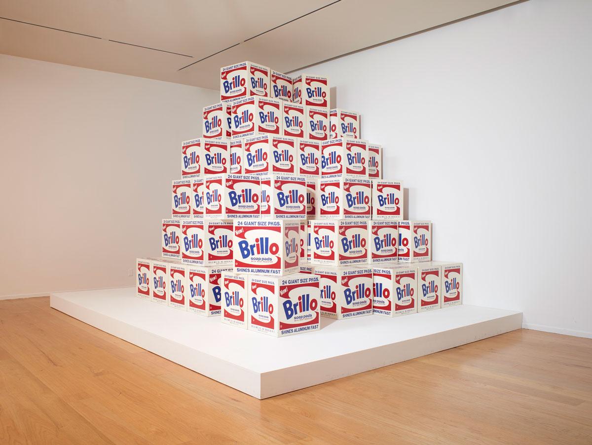 Andy Warhol, 'Brillo Boxes,' 1969 (version of 1964 original).
